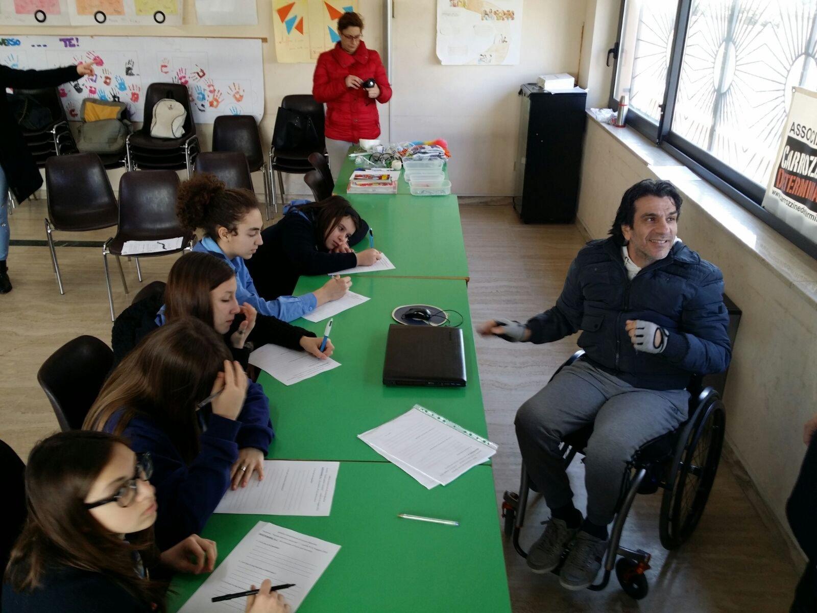 Incontro con la squadriglia femminile delle pantere, Scout Agesci Pescara 6